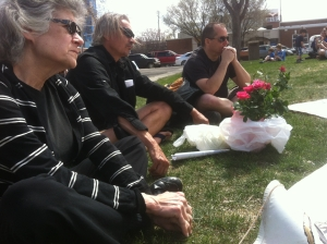 ECAWAR's May picket and information meeting.